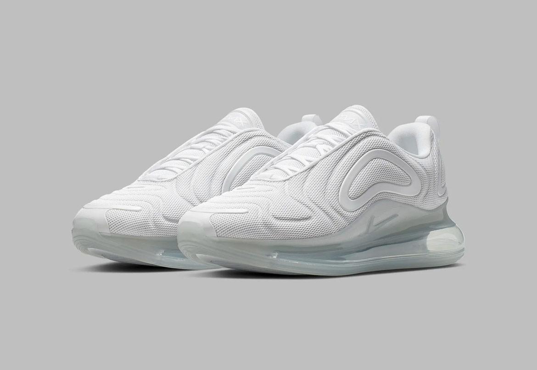 Nike Air Max 720 — boty — bílé — pánské — sneakers