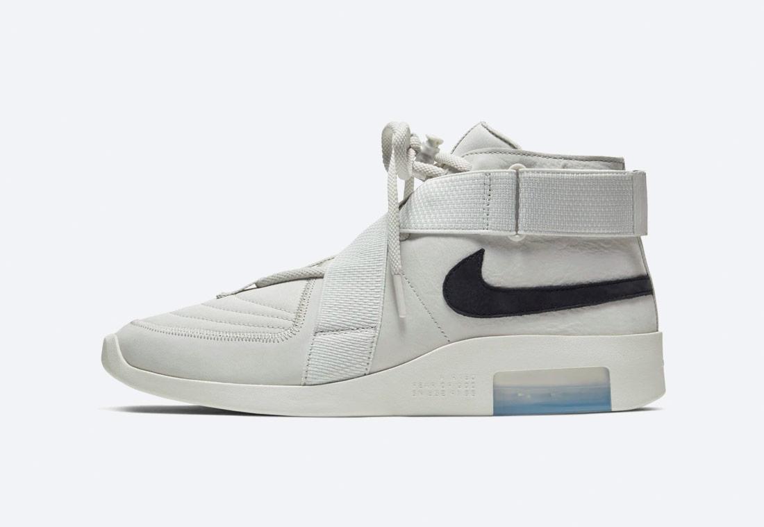 Nike Air Fear of God Raid — Light Bone — bílé — kotníkové boty