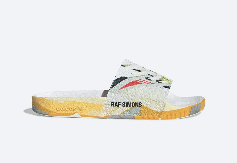 Pantofle adidas Originals Adilette x Raf Simons