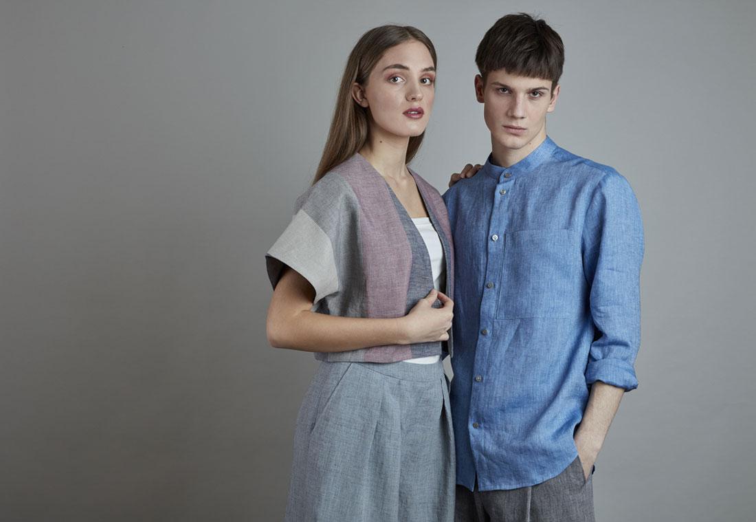 """Lněné oblečení značky SISTERSCONSPIRACY z nové kolekce """"Len"""""""