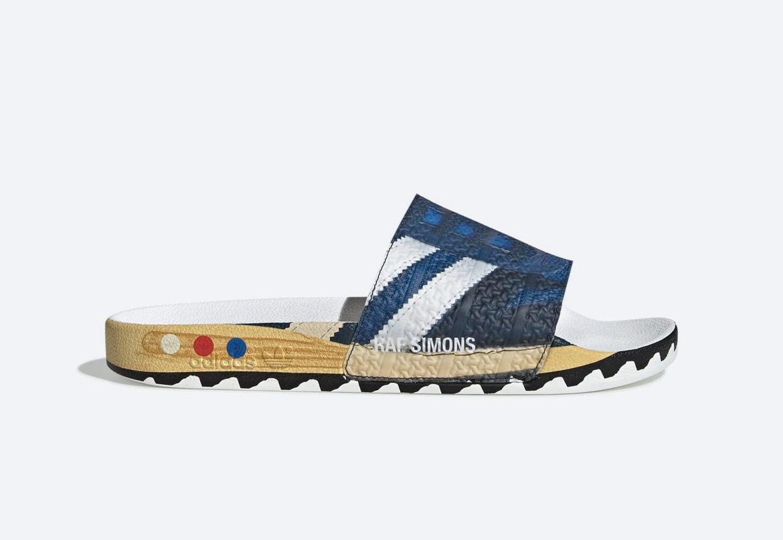 adidas Originals Raf Simons LA — pantofle — pánské — barevné s potiskem