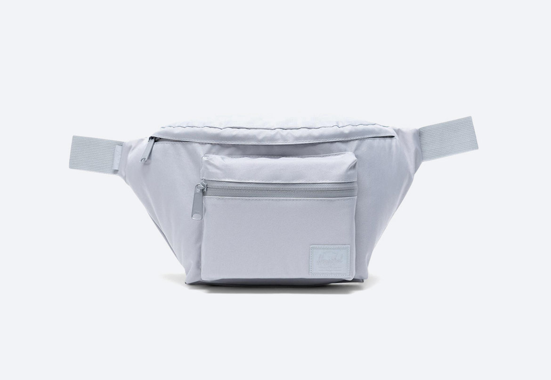 Ledvinka — Herschel Supply Seventeen Light — šedá — pánská, dámská
