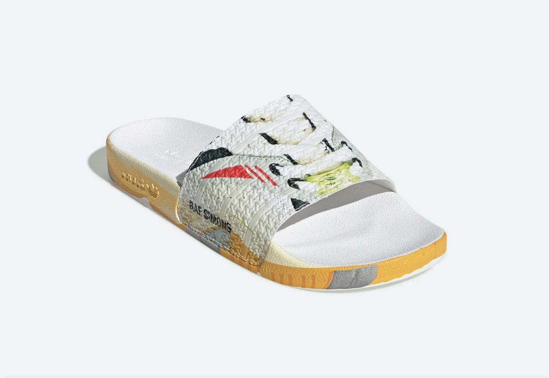 adidas Originals Raf Simons Torsion — pantofle — pánské — barevné s potiskem