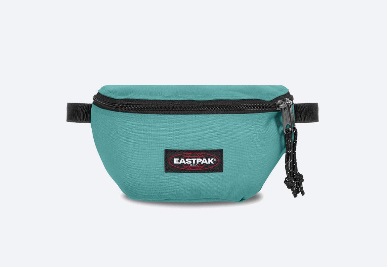 Ledvinka — Eastpak Springer — modro-zelená — pánská, dámská