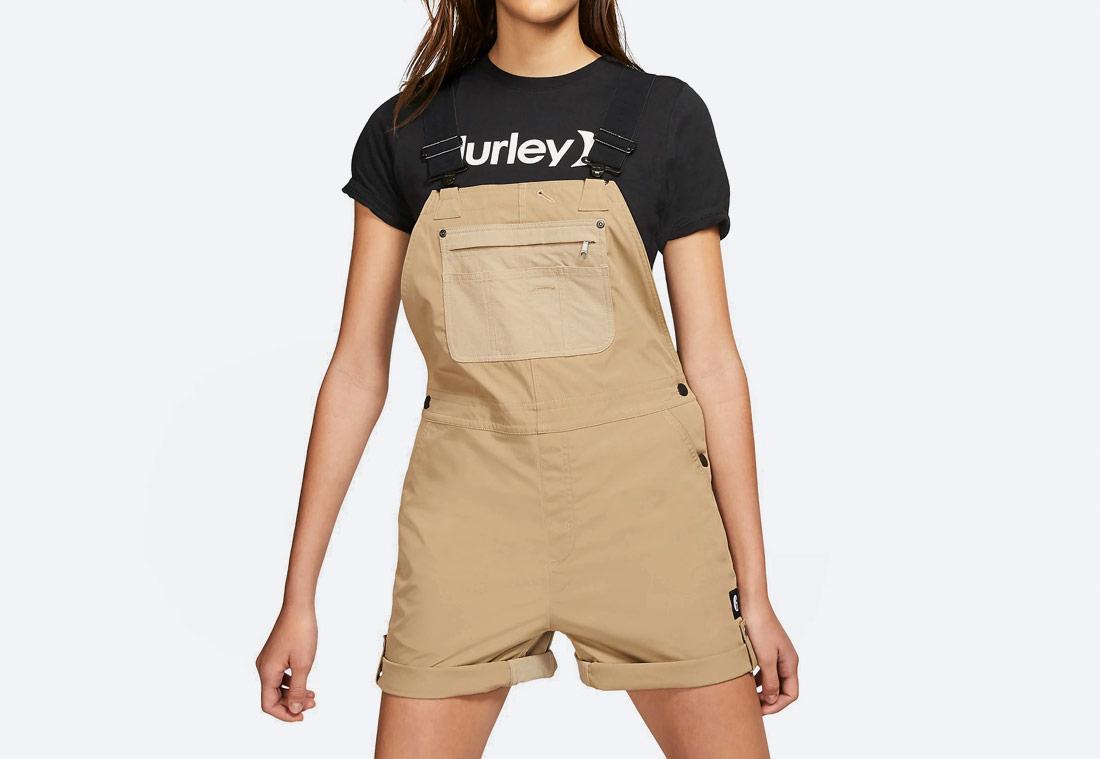 Hurley x Carhartt — dámské lacláče — béžové