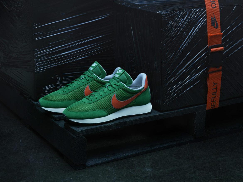 Nike Stranger Things — Tailwind — boty — zelené