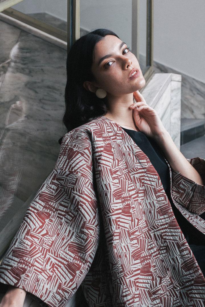 Dámské kimono se vzorem — Freshlabels
