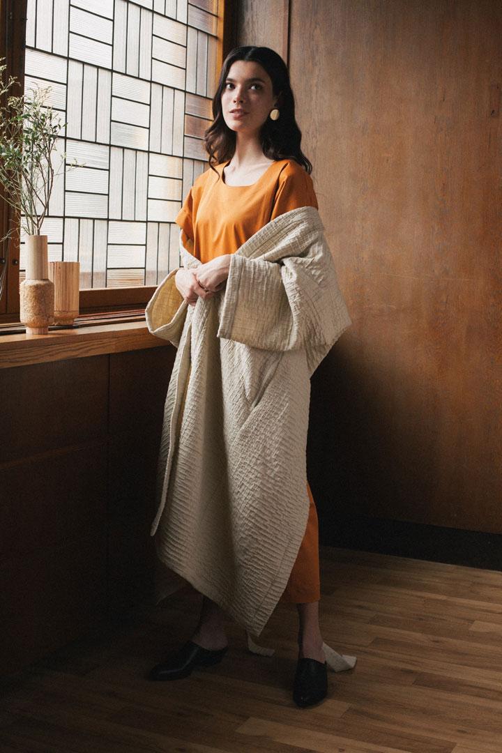 Dámské kimono — bílé — Freshlabels