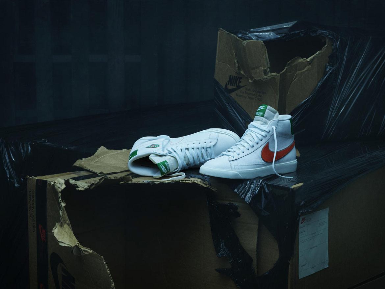 Nike Stranger Things — Blazer — kotníkové boty