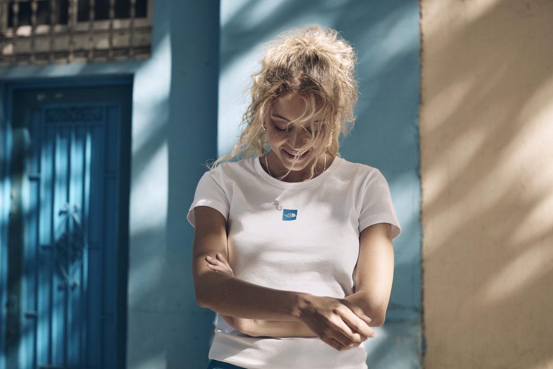 The North Face — Pacific Crest — bílé tričko — dámské