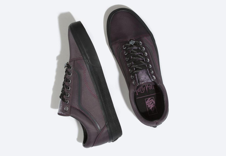 Vans x Harry Potter™ Old Skool Deathly Hallows — boty — černé — pánské, dámské, chlapecké a dívčí