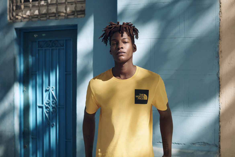 The North Face — Pacific Crest — pánské tričko — žluté