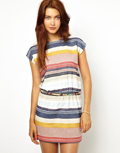 Šaty Asos – letní, barevné