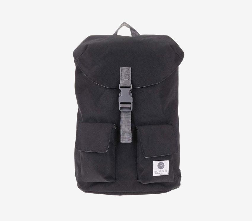 Ridgebake — plátěný batoh — Glance — černý