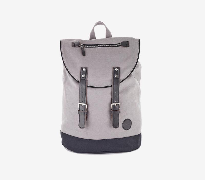 Enter — plátěný batoh — šedý
