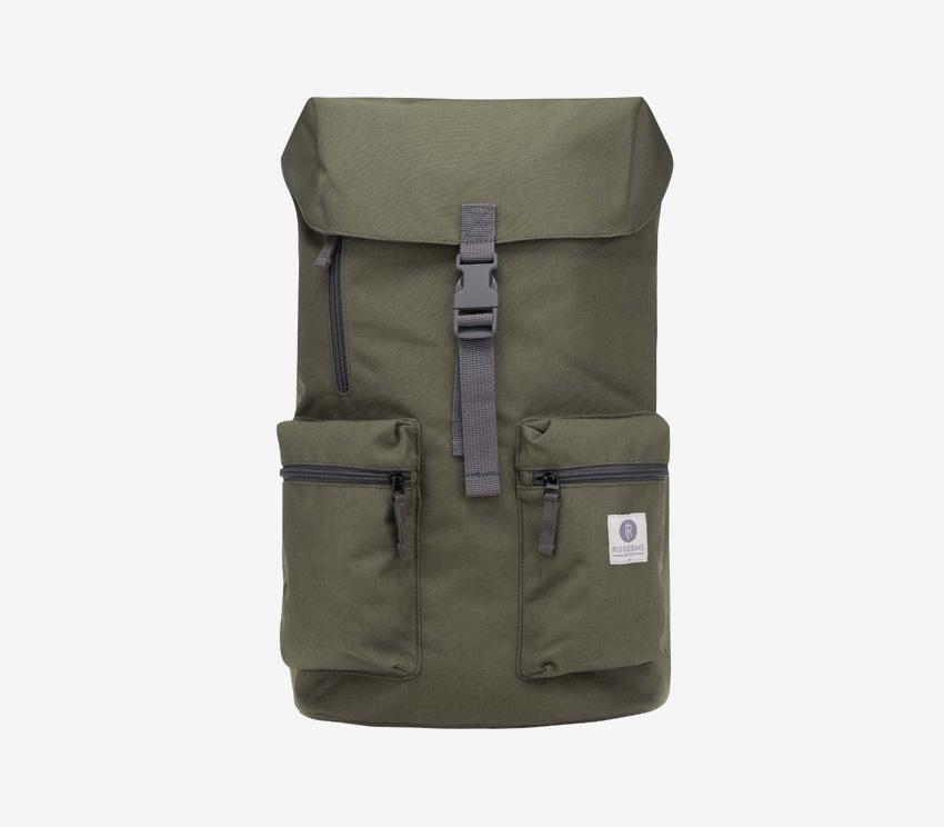 Ridgebake — plátěný batoh — Iowa — zelený, army green