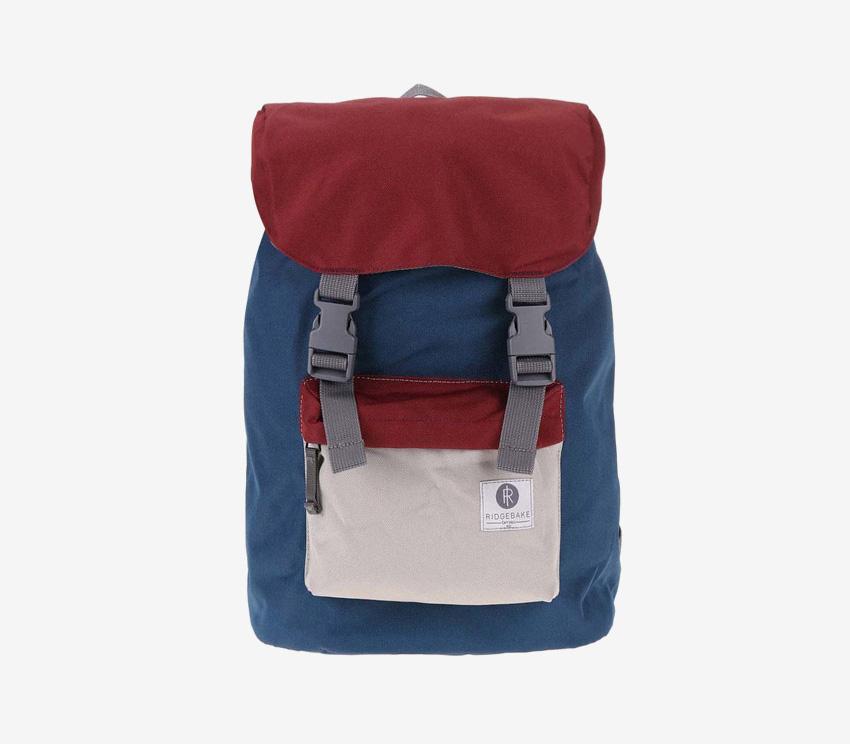 Ridgebake — plátěný batoh — Hook — modrý