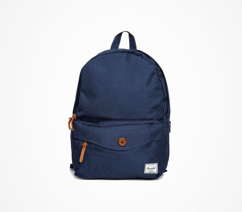 Plátěný batoh – Herschel Supply – modrý, ruksak