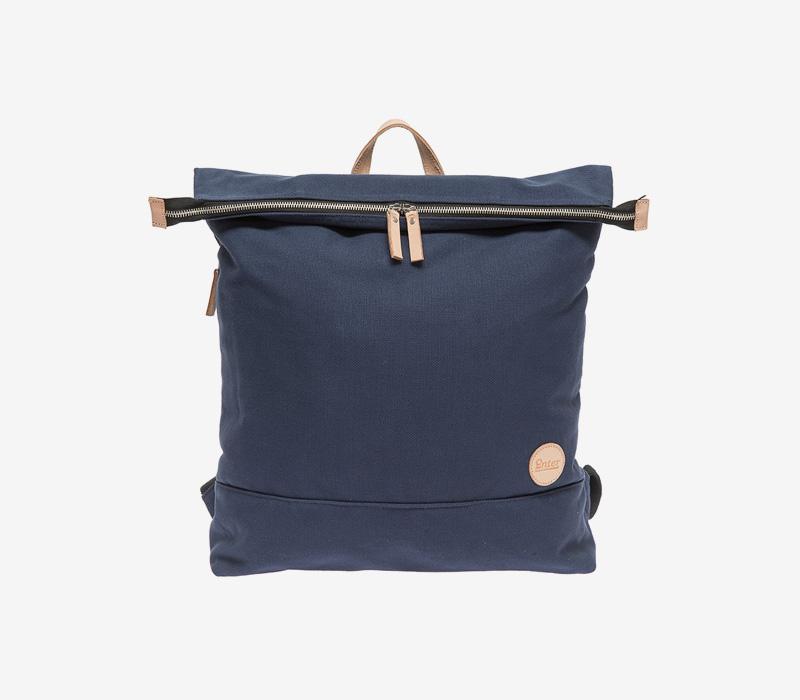 Enter — plátěný batoh — tmavě modrý