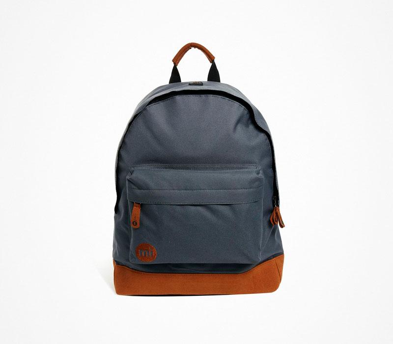Plátěný batoh – Mi Pac – šedý ruksak, na záda