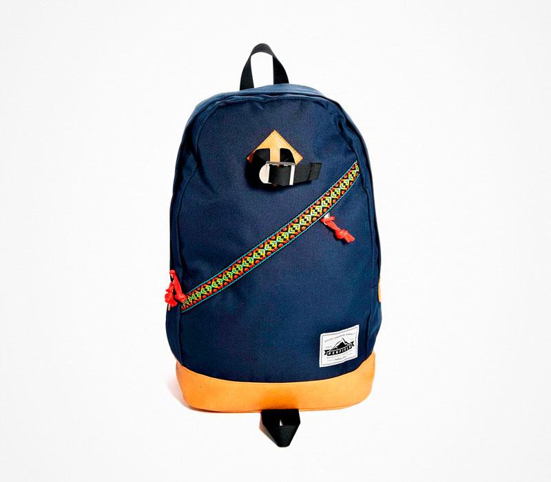 Plátěný batoh – Penfield – stylový modrý ruksak na záda