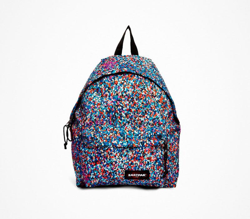 Plátěný batoh – Eastpak – stylový barevný ruksak, na záda