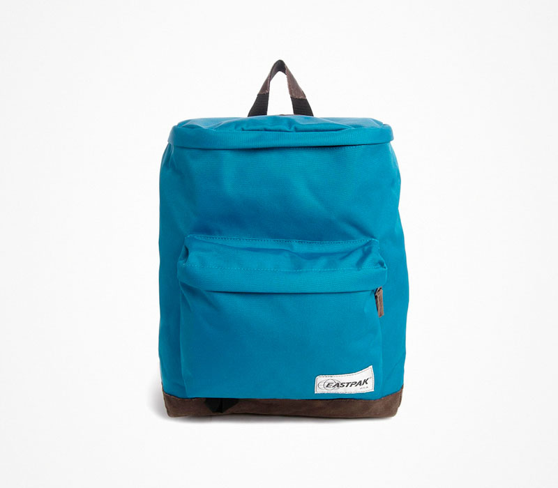 Plátěný batoh – Eastpak – modrý ruksak na záda