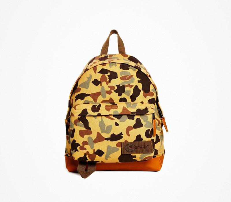 Plátěný batoh – Eastpak – maskáčový ruksak
