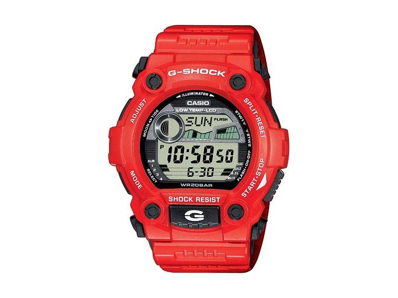 Hodinky Casio G-Shock G-7900A-4ER – červené – pánské, dámské
