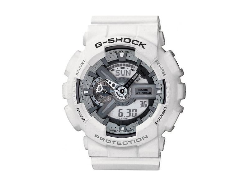 Hodinky Casio G-Shock GA-110C-7AER – bílé – pánské, dámské