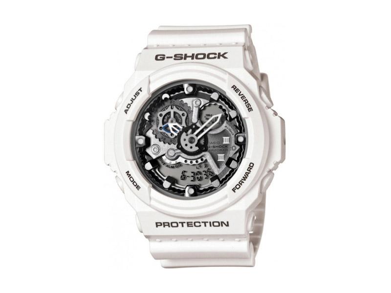 Hodinky Casio G-Shock GA-300-7A – bílé – pánské, dámské