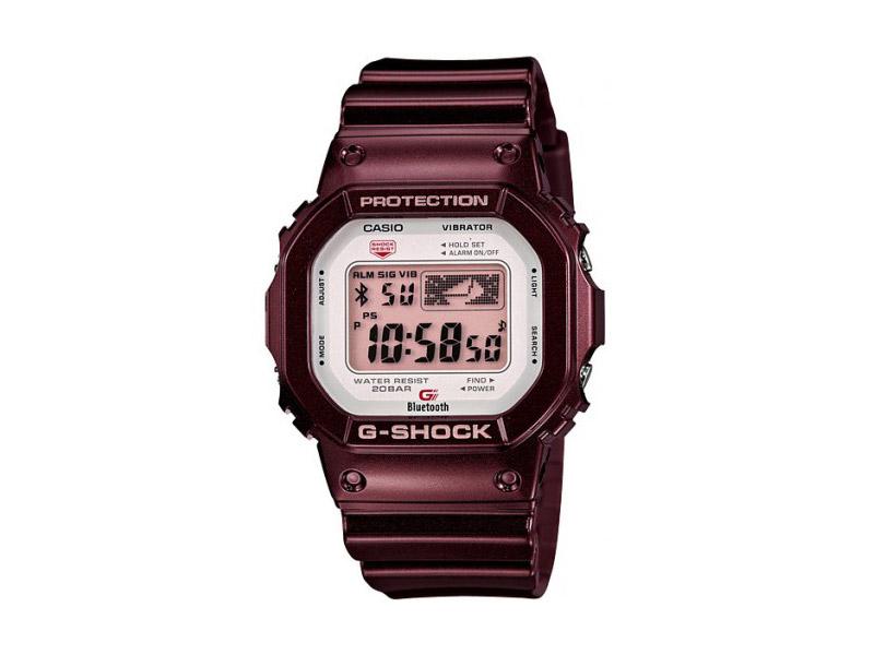 Hodinky Casio G-Shock GB-5600AA-5ER – vínové, bordó – pánské, dámské