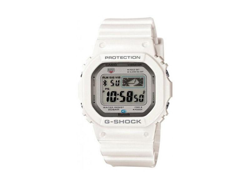 Hodinky Casio G-Shock GB-5600AA-7ER – bílé – pánské, dámské