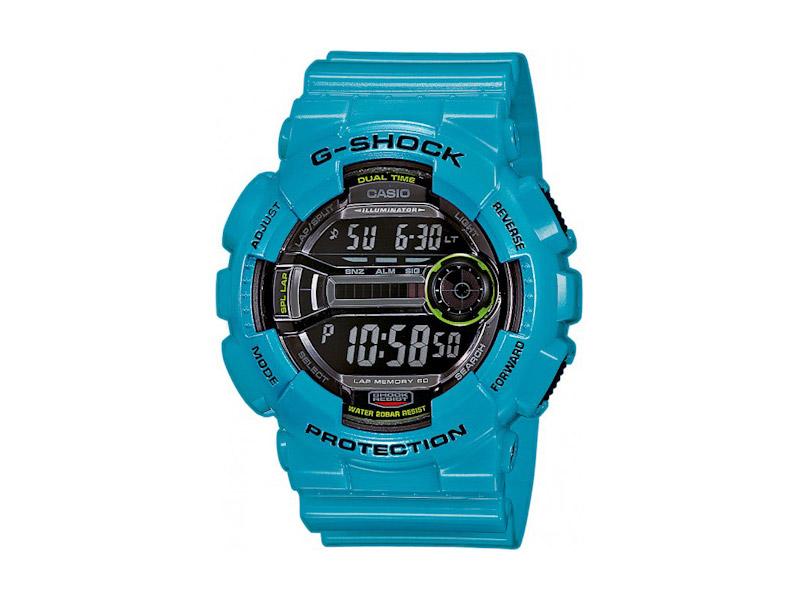 Hodinky Casio G-Shock GD-100-2 – modré, tyrkysové – pánské, dámské