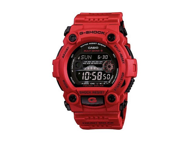 Hodinky Casio G-Shock GW-7900RD-4ER – červené – pánské, dámské