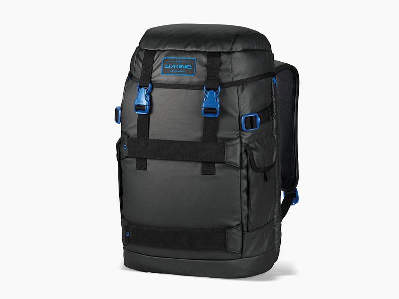 Dakine – studentský, školní a skate batoh na záda, černý | Burnside 24 l – Blackout
