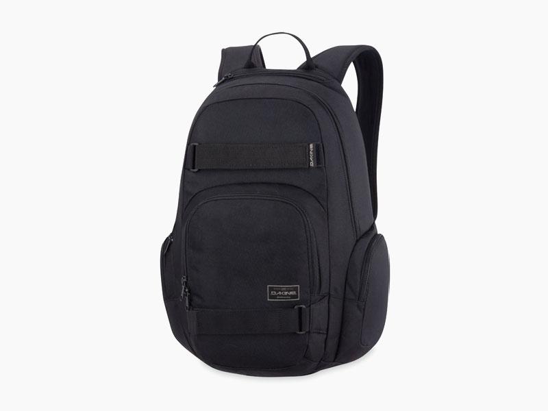 Dakine – studentský, školní a skate batoh na záda, černý | Atlas 25 l – Black