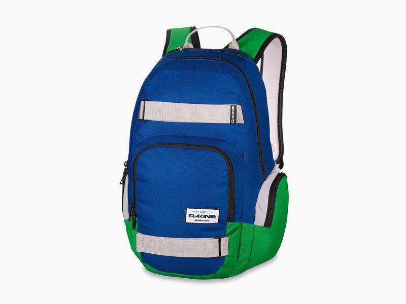 Dakine – studentský, školní a skate batoh na záda, modrý, zelený | Atlas 25 l – Portway