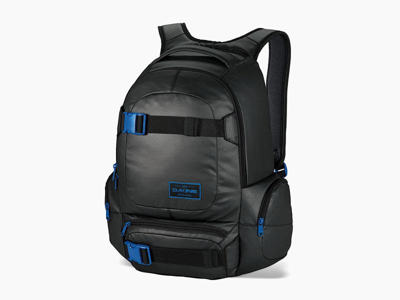 Dakine – studentský, školní a skate batoh na záda, černý | Daytripper 30 l – Blackout