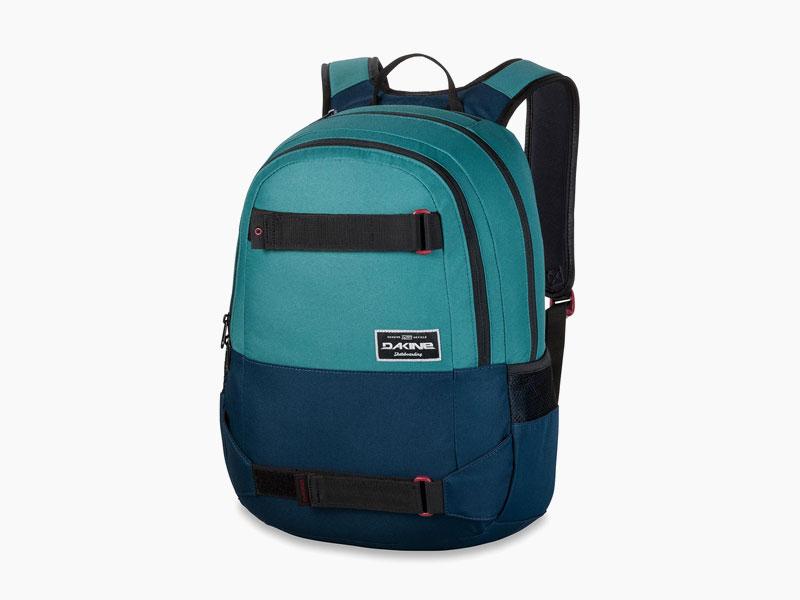 Dakine – studentský, školní a skate batoh na záda, modrý | Option 27 l – Seapine