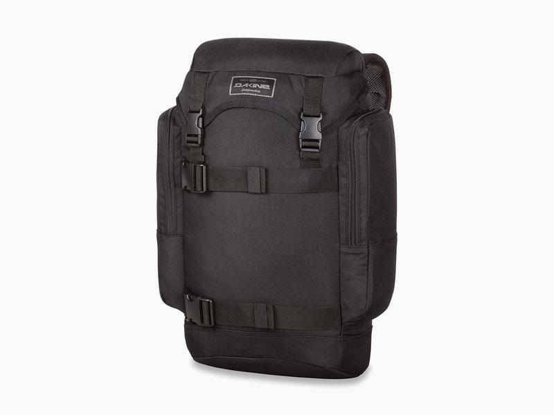 Dakine – studentský, školní a skate batoh na záda, černý | Lid 26 l – Black