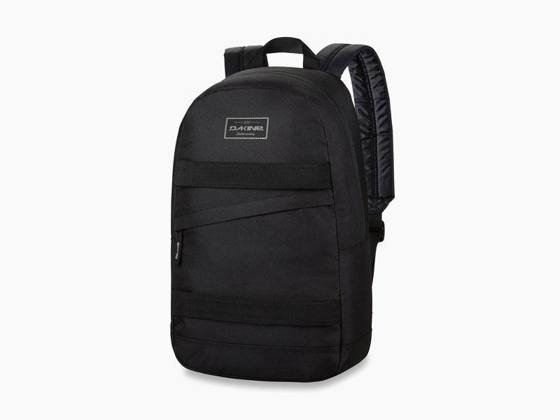 Dakine – studentský, školní a skate batoh na záda, černý | Manual – 20 l – Black