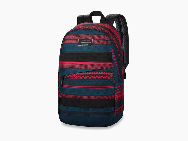 Dakine – studentský, školní a skate batoh na záda, červeno-modrý | Manual – 20 l – Mantle