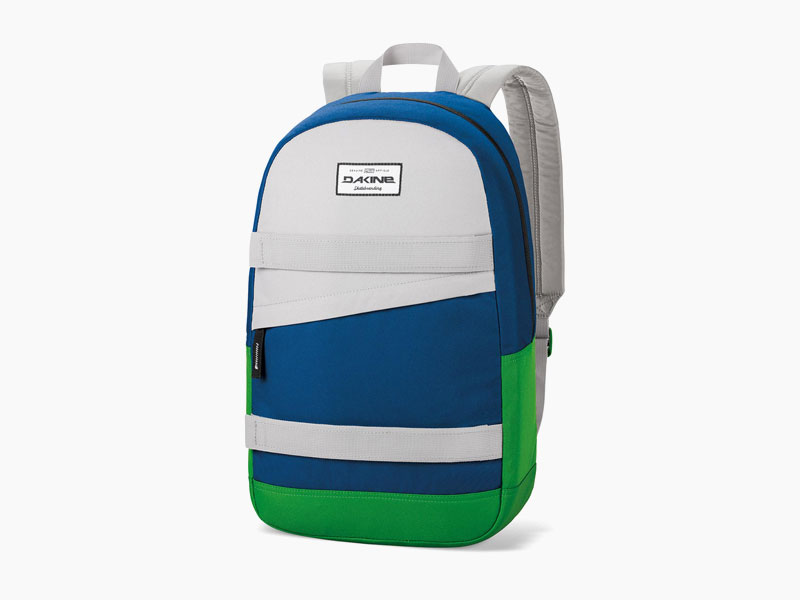 Dakine – studentský, školní a skate batoh na záda, modrý, zelený, hnědy | Manual – 20 l – Portway