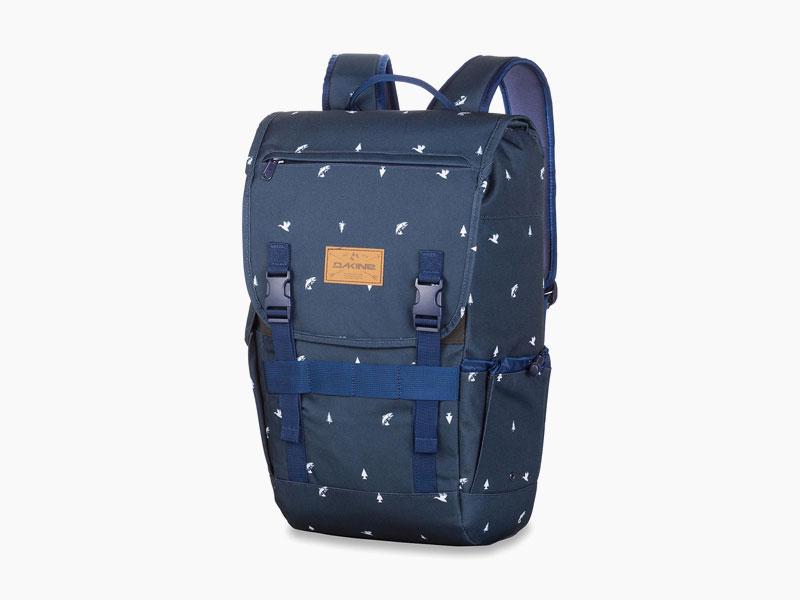 Dakine – studentský, školní a skate batoh na záda, tmavě modrý | Ledge 25 l – Sportsman