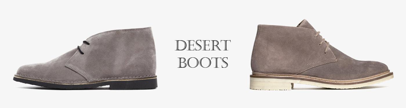 Desert Boots, pánské a dámské pouštní kotníkové boty