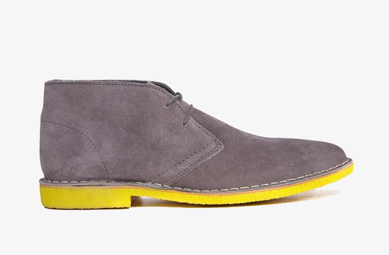 Desert Boots, pánské pouštní kotníkové boty – kožené,