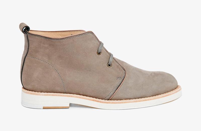 Desert Boots, dámské pouštní kotníkové boty – kožené, khaki