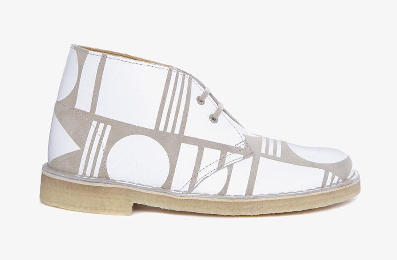 Desert Boots, dámské pouštní kotníkové boty – kožené, bílé