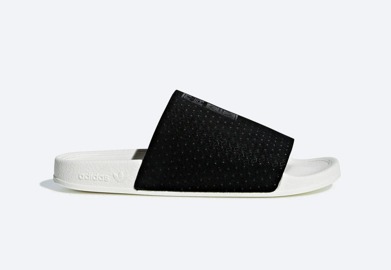 adidas Originals Adilette Luxe — pantofle — dámské — letní — černé — slides